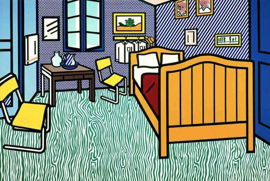 lichtenstein pops into la at skirball exhibition - art docent program